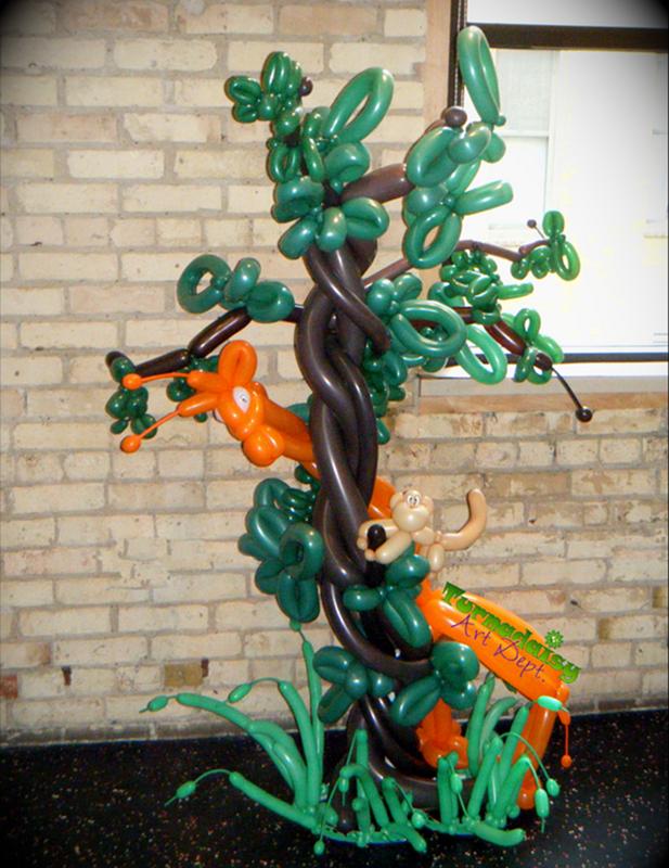 Wild Balloon Art Event Decor Sculpture And U